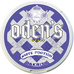ODENS LAKRITS WHITE PORTION