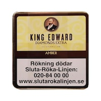 KING EDWARD DIAMONDS EXTRA AMBER (VANILLA)