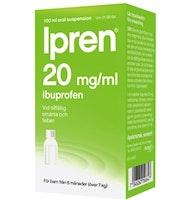 Ipren Oral Susp. 20 mg/ml, 100 ml