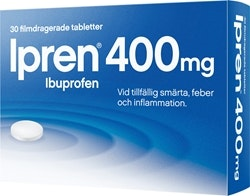 Ipren Tabletter 400 mg, 30 st