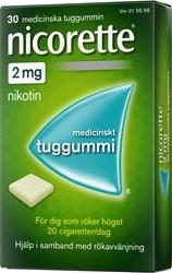 Nicorette Original 2 mg, 30 st