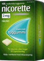 Nicorette Original 2mg, 105 st