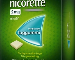 Nicorette Original 2mg, 210 st