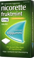 Nicorette Fruktmint 2mg, 30 st