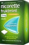 Nicorette Fruktmint tuggummi 2mg, 105 st