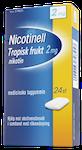 Nicotinell Tropisk Frukt tuggummi 2mg, 24 st