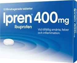 Ipren Tabletter 400 mg, 10 st