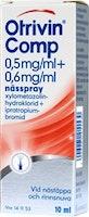 Otrivin Nässpray Comp 0,5+0,6 mg/ml, 10 ml