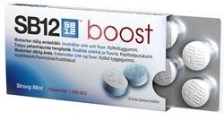 SB12 Boost Strong Mint Tuggummi, 10st