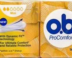 o.b. ProComfort Mini 16-p