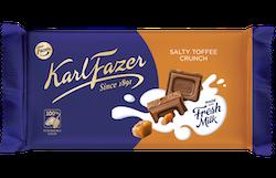 Karl Fazer Salty Toffee Crunch 145 g