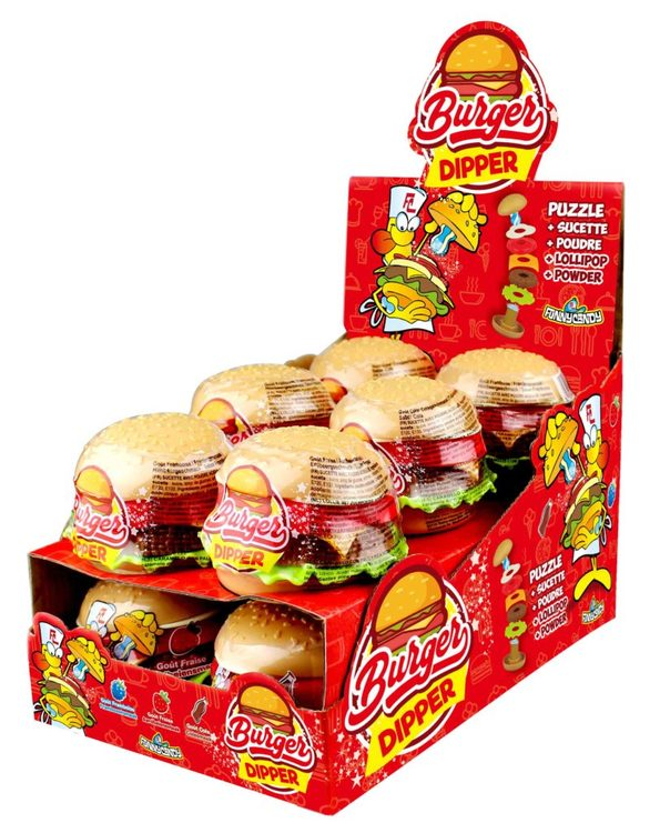 Burger dipper 12-p