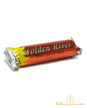 Kol rulle/kartong Golden River