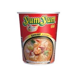 Yum Yum Cup Noodle Shrimp Tom Yam 12 X 70 G