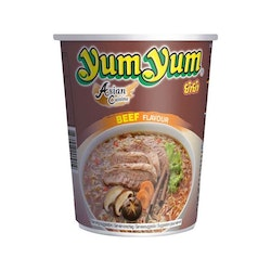 Yum Yum Cup Noodle Beef 12 X 70 G