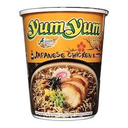 Yum Yum Cup Chicken Japanese Shoyu 12 X 70 G