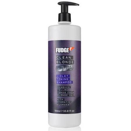 Fudge Clean Blonde Violet Toning Shampoo 1000ml