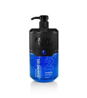 NISHMAN SHAVING GEL 1000ML - 10 styck