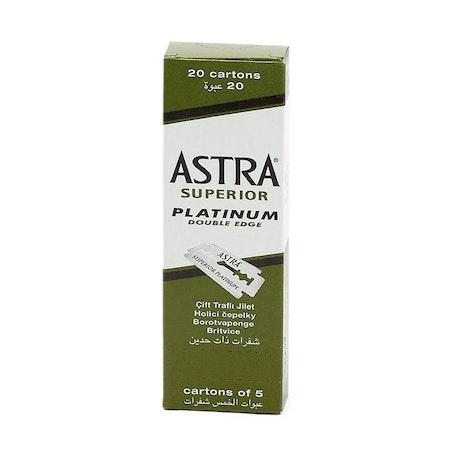 Astra Superior Platinum Rakblad 100st