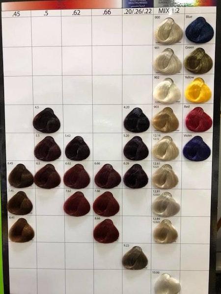 Enzo Hair Color Cream 60ml Olika Färger