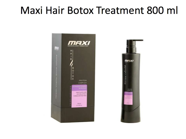 Maxi Brazilian Protein Complex Hair Botox 250ml/1000ml