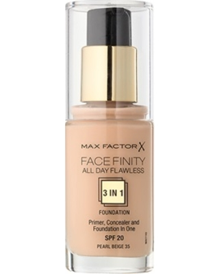 Max Factor 3 in 1 All Day Flawless Pearl Beige 35
