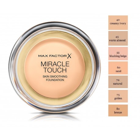 Max Factor Miracle Touch Foundation