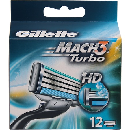 Gillette Mach3 Turbo 12pack HD