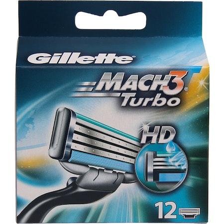 Gillette Mach3 Turbo 12pack HD