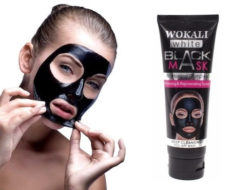 Wokali Black Mask Deep Cleansing Peel Off 130ml