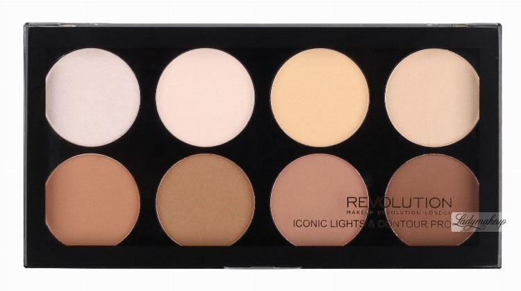 Revolution Makeup Iconic Lights & Contour Pro 13g