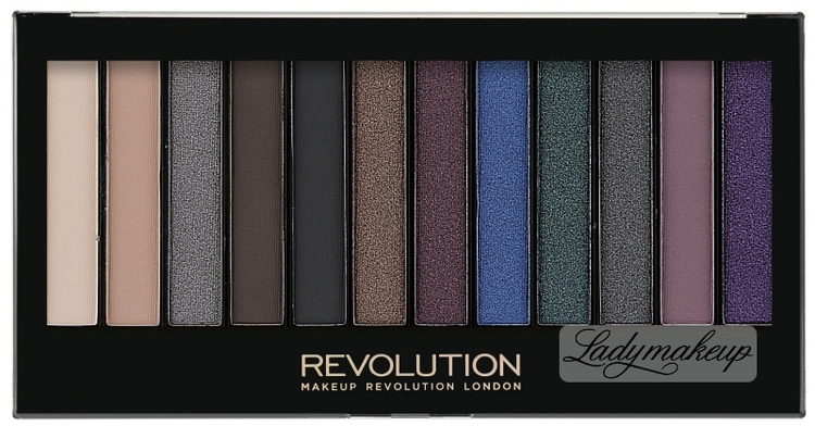 Revolution Makeup Redemption Palette Hot Smoked