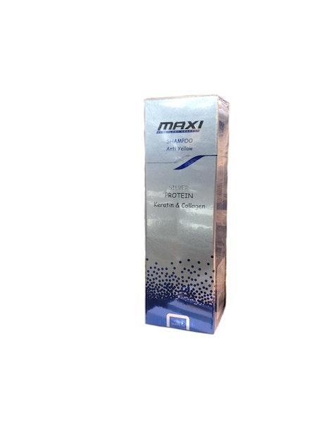 Maxi Brazilian Silver Protein Keratin Anti Yellow Shampoo 500ml/1000ml