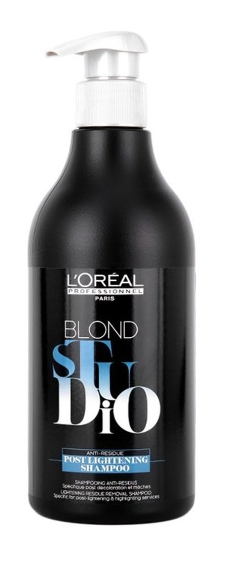 L'Oreal Paris Blond Studio Post Lightening Shampoo 500ml