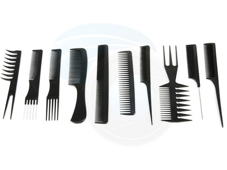 Tian Ho Professional 10pcs Comb Set