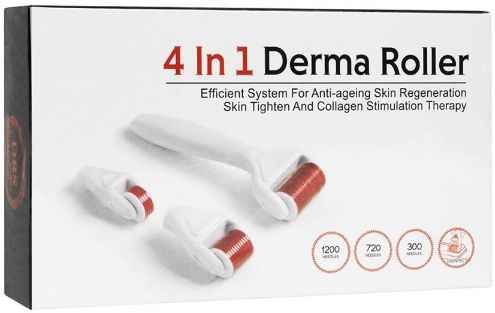 Stella Derma Roller 4 in 1 Face, Body & Eye  300-1200 Mikronålar