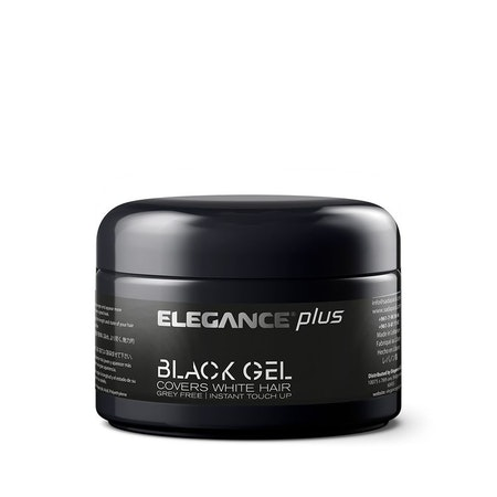 Elegance Black Gel With Black Touch Up 100ml - 10 styck