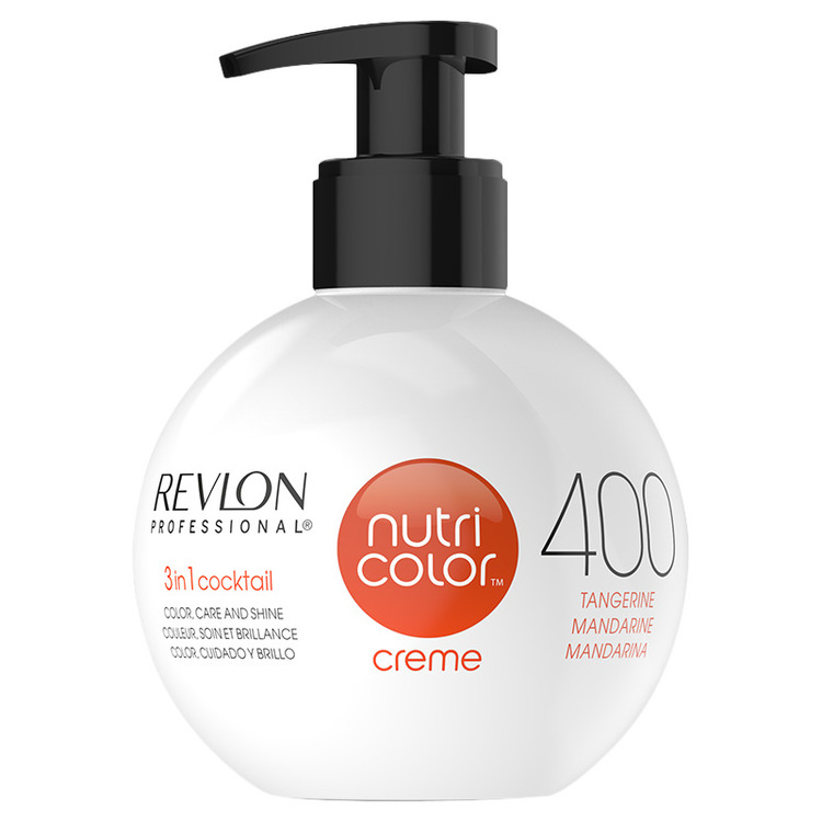Revlon Nutri Cream ColorBomb No. 400 Tangerine 270ml