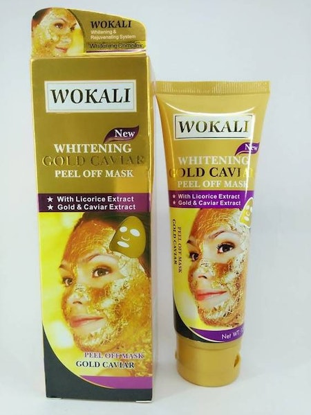 Wokali Gold Mask Deep Cleansing Peel Off 130ml