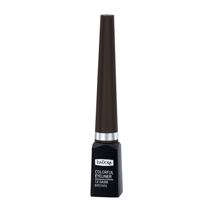 IsaDora Eye Liner Colorful 12 Dark Brown