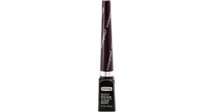 IsaDora Eyeliner Glossy 42 Dark Brown