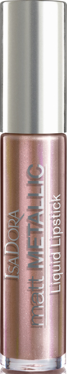 IsaDora Matt Metallic Lipstick 81 Rose Gold