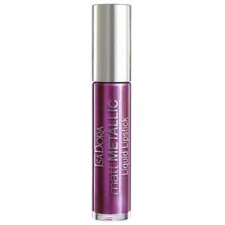 IsaDora Matt Metallic Lipstick 84 Purple Power