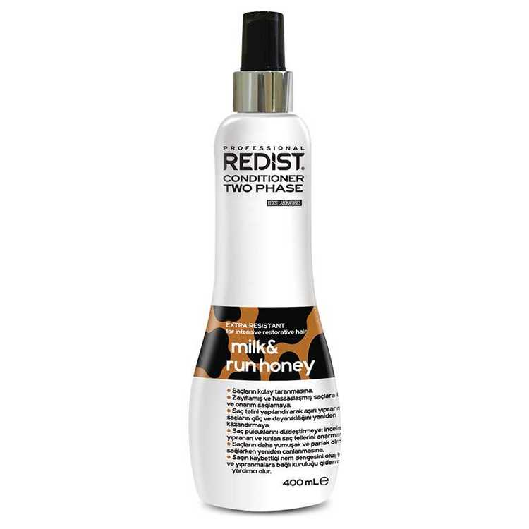 Redist Professional Two Phase Milk & Run Honey Conditioner 400ml