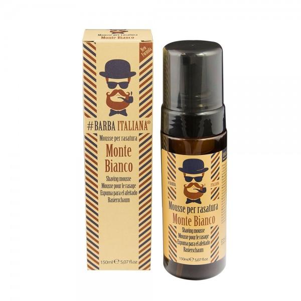 Barba Italiana Shaving Mousse Monte Bianco 150ml