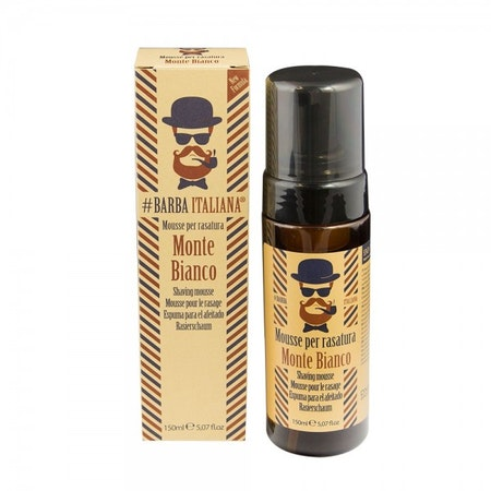 Barba Italiana Shaving Mousse Monte Bianco 150ml