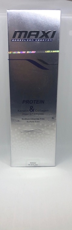 Maxi Brazilian Keratin & Collagen Shampoo 500ml