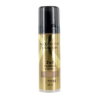 Max Factor Ageless Elixir Foundation 2in1 Beige 55