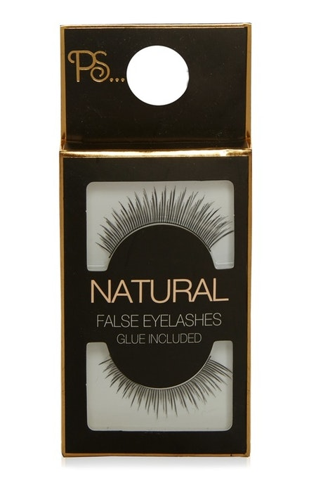 PS Natural False Eyelashes With Glue