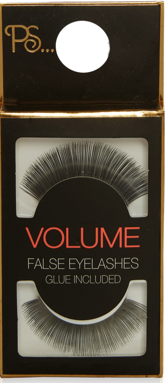 PS Volume False Eyelashes With Glue